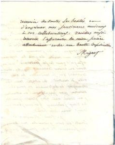 Lettre au comte de Rayneval (16)