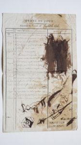 Ordre du jour du Conseil d'État du 18 juillet 1806, MS Masson 101 Pièce VI