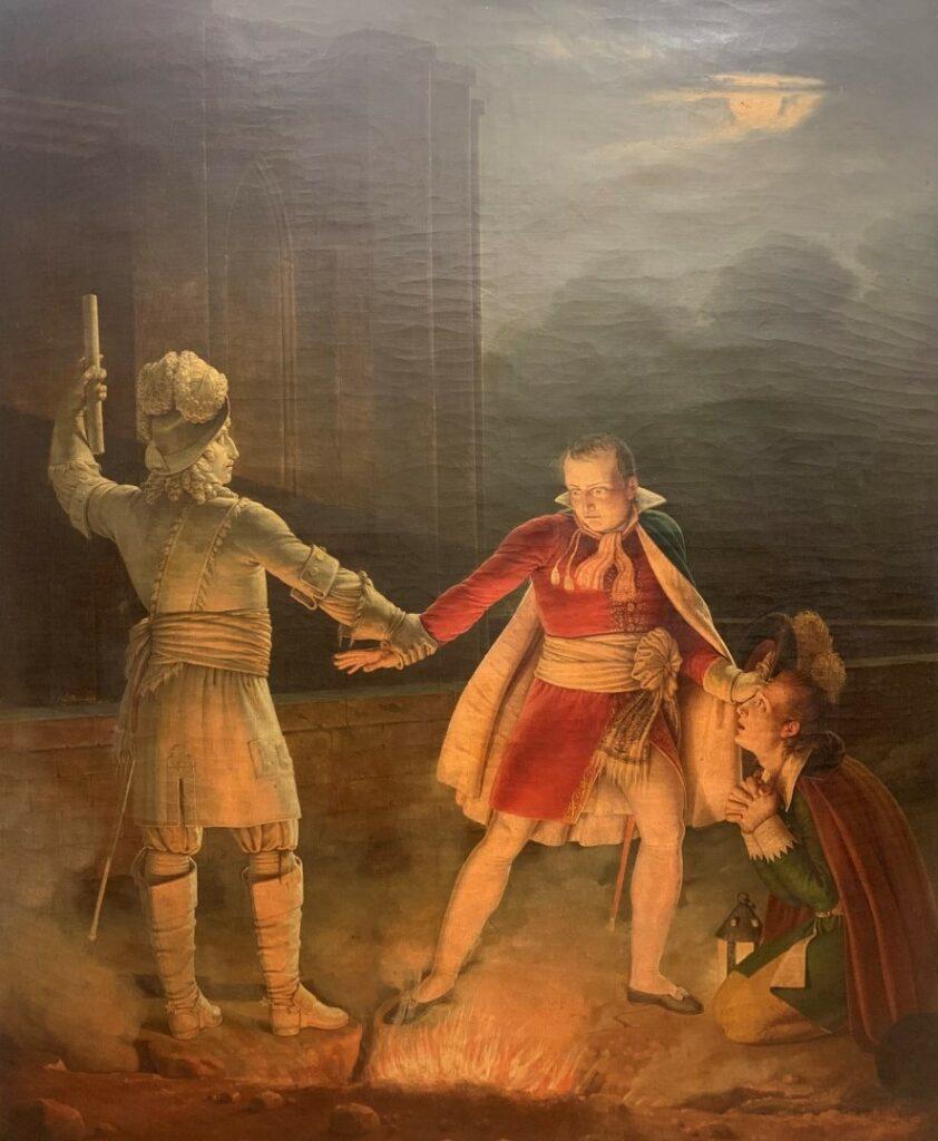 « La statue du Commandeur », ANONYME